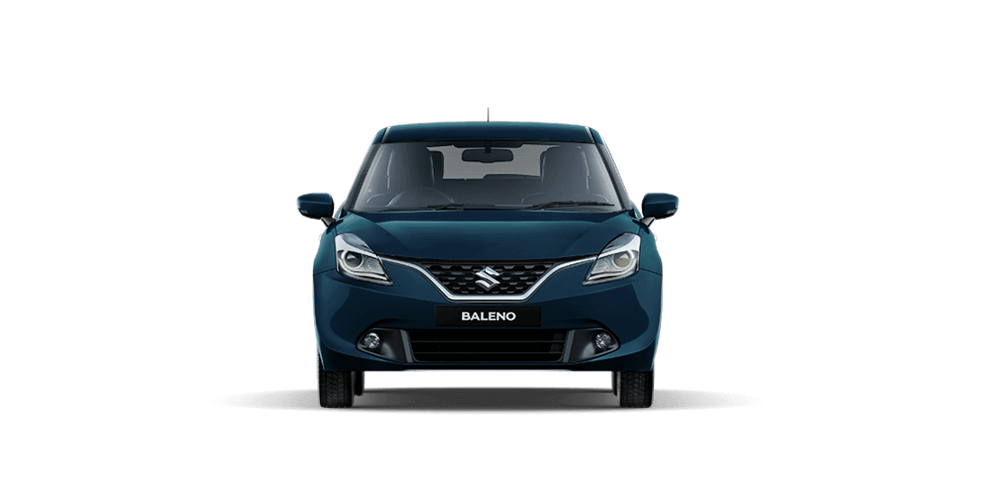 Baleno RayBlue car front views